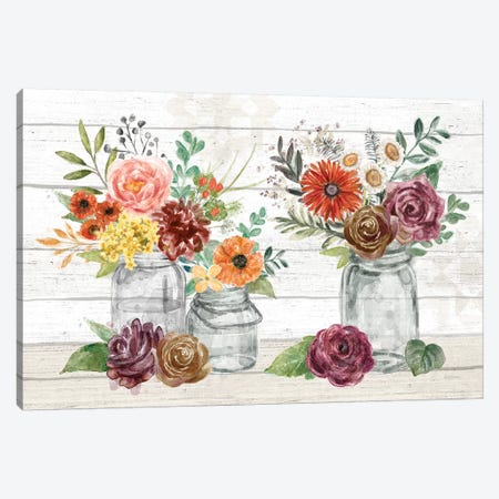 Flower Fest IV Canvas Print #URB107} by Mary Urban Canvas Wall Art