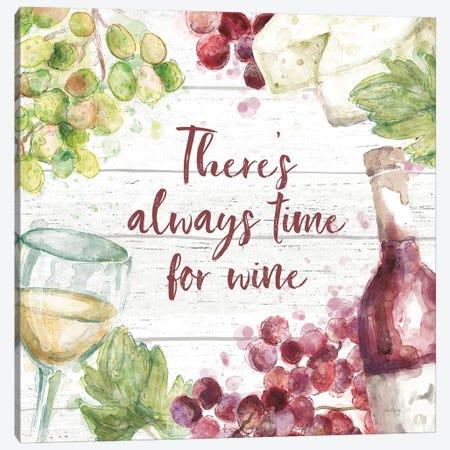 Sweet Vines V Canvas Print #URB118} by Mary Urban Canvas Wall Art