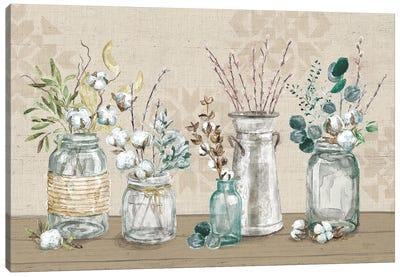 Cotton Bouquet I Canvas Art Print