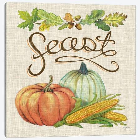 Autumn Harvest II Linen Canvas Print #URB20} by Mary Urban Canvas Print