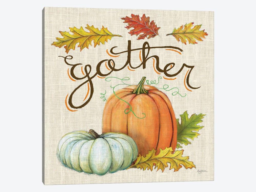 Autumn Harvest III Linen by Mary Urban 1-piece Art Print