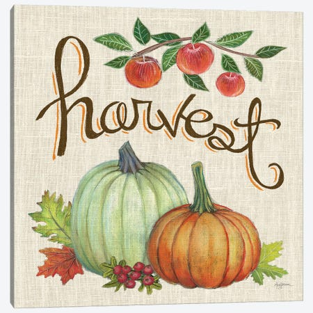 Autumn Harvest IV Linen Canvas Print #URB22} by Mary Urban Art Print
