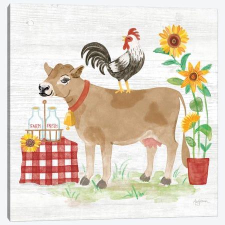 Farm Market II Canvas Print #URB24} by Mary Urban Canvas Artwork
