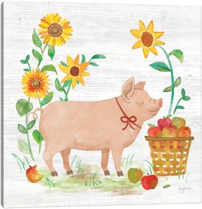 Farm Market IV Canvas Art Print