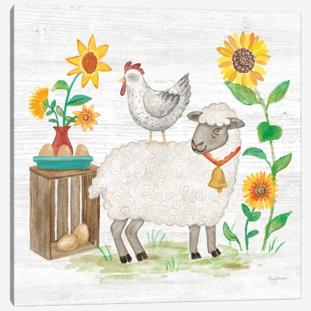 Farm Market V Canvas Print #URB27} by Mary Urban Canvas Artwork