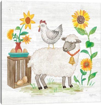 Farm Market V Canvas Art Print
