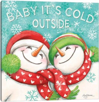 Let it Snow VI Eyes Open Canvas Art Print