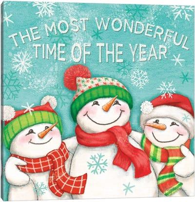 Let it Snow VII Eyes Open Canvas Art Print