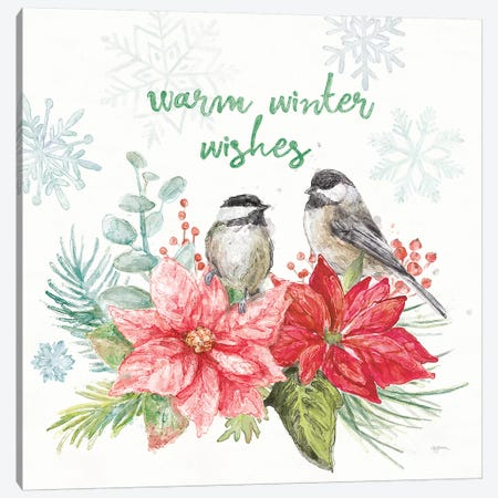 Festive Feathers IV Canvas Print #URB65} by Mary Urban Canvas Wall Art