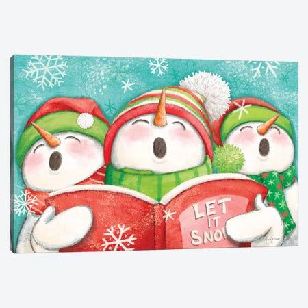 Let it Snow IV Canvas Print #URB71} by Mary Urban Canvas Art