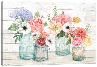 Pastel Flower Market I Canvas Art Print
