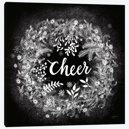 Frosty Cheer Canvas Print #URB84} by Mary Urban Canvas Wall Art