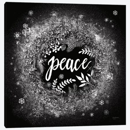 Frosty Peace Canvas Print #URB86} by Mary Urban Canvas Art