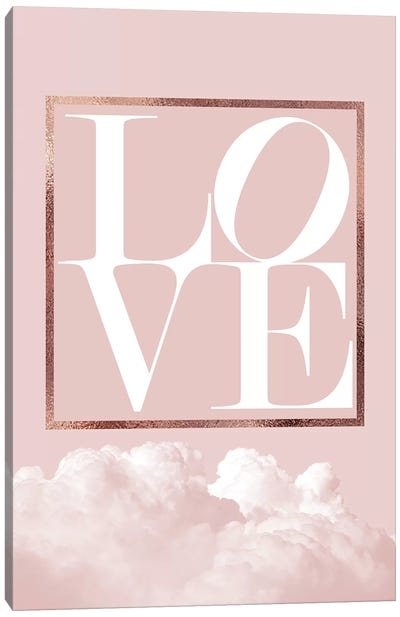 Love Joy Geo I Canvas Art Print