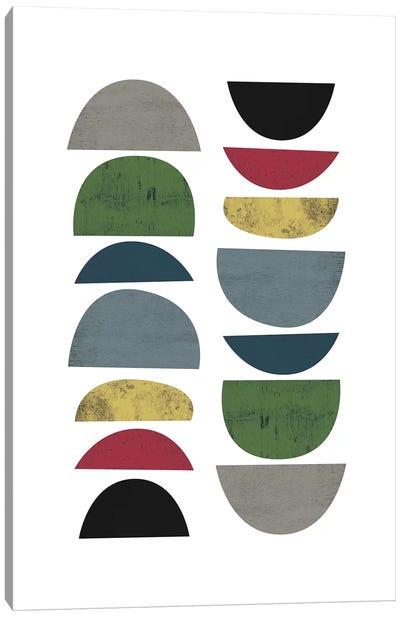 Mid Century Safari III Canvas Art Print