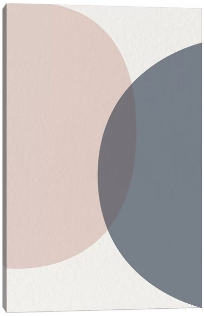 Mid Century Soft Luxe III Canvas Art Print