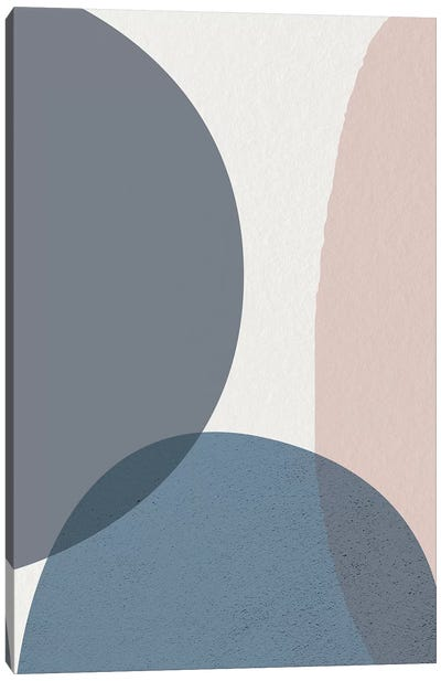 Mid Century Soft Luxe IV Canvas Art Print