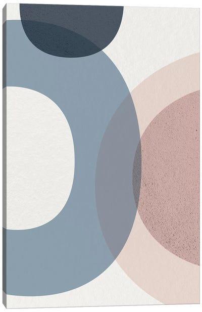 Mid Century Soft Luxe V Canvas Art Print