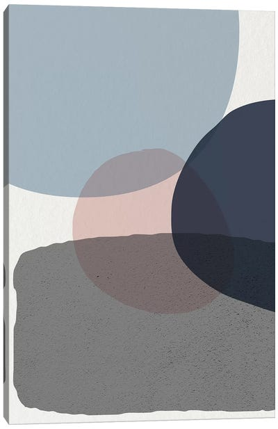 Mid Century Soft Luxe VI Canvas Art Print