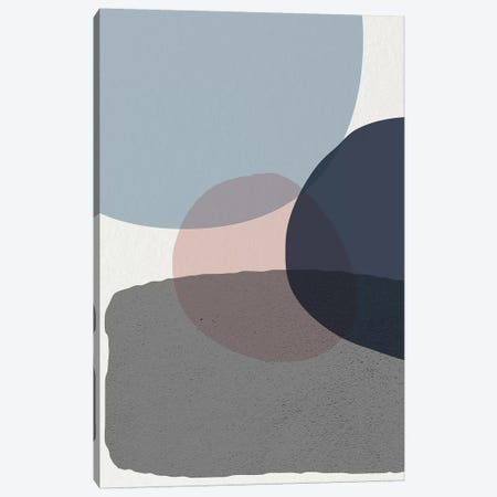 Mid Century Soft Luxe VI 3-Piece Canvas #URE138} by Urban Epiphany Canvas Art Print