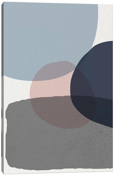 Mid Century Soft Luxe VI Canvas Art Print