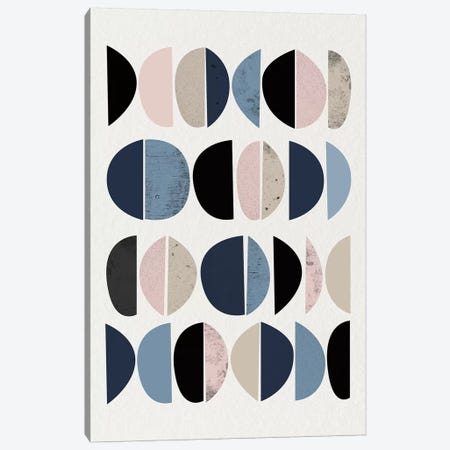 Mid Century Soft Luxe VIII 3-Piece Canvas #URE140} by Urban Epiphany Canvas Wall Art
