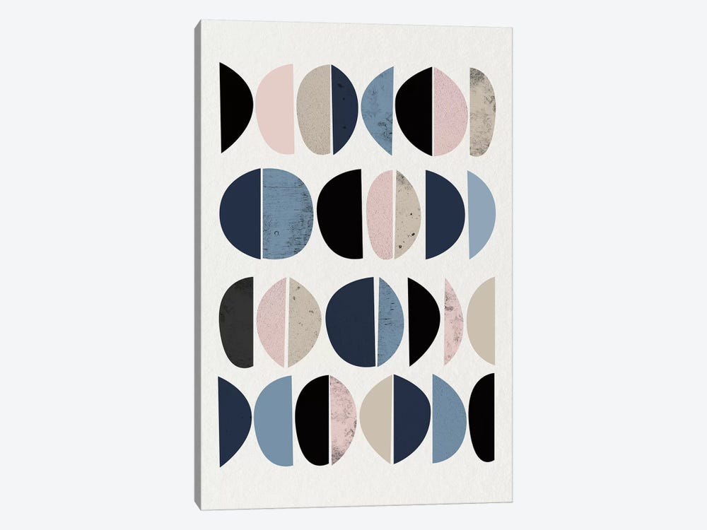 Mid Century Soft Luxe VIII by Urban Epiphany 1-piece Art Print