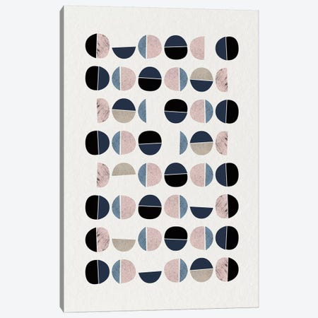 Mid Century Soft Luxe IX Canvas Print #URE141} by Urban Epiphany Canvas Art
