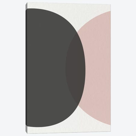 Minimalist Circles I Canvas Print #URE143} by Urban Epiphany Canvas Artwork