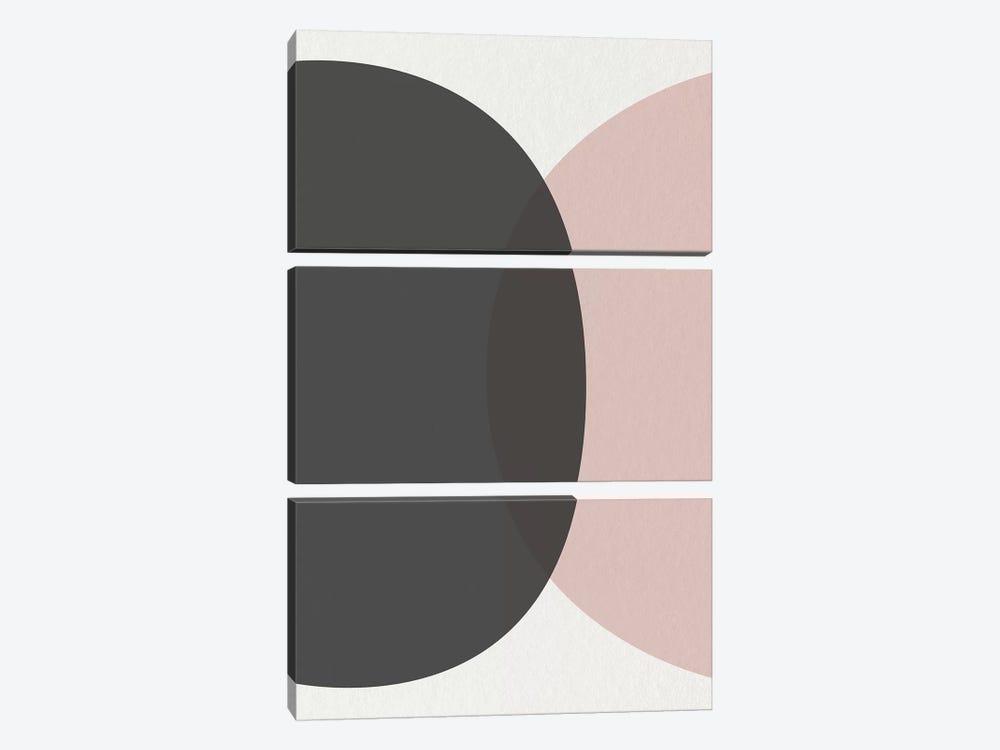Minimalist Circles I by Urban Epiphany 3-piece Canvas Art