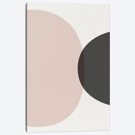 Minimalist Circles II Canvas Print #URE145} by Urban Epiphany Canvas Art Print