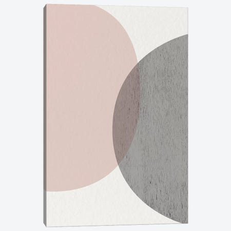 Minimalist Circles III Canvas Print #URE146} by Urban Epiphany Art Print