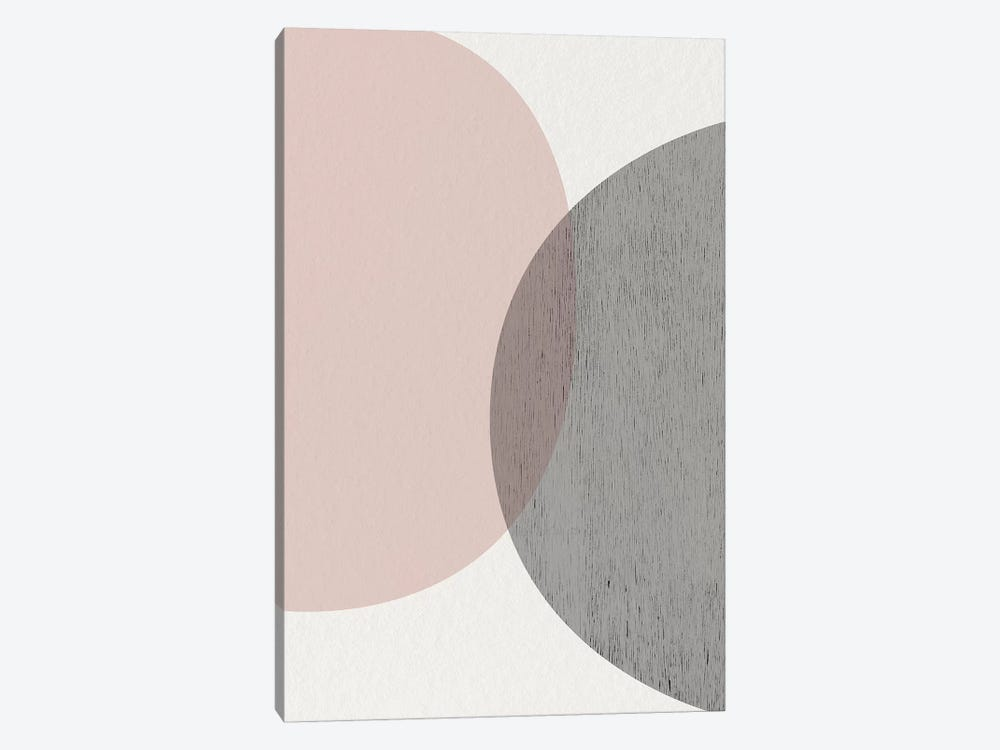Minimalist Circles III by Urban Epiphany 1-piece Canvas Print
