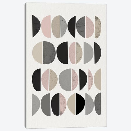Minimalist Circles VIII Canvas Print #URE151} by Urban Epiphany Art Print