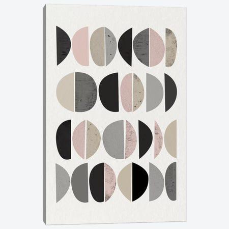 Minimalist Circles VIII Canvas Print #URE151} by Urban Epiphany Art Print
