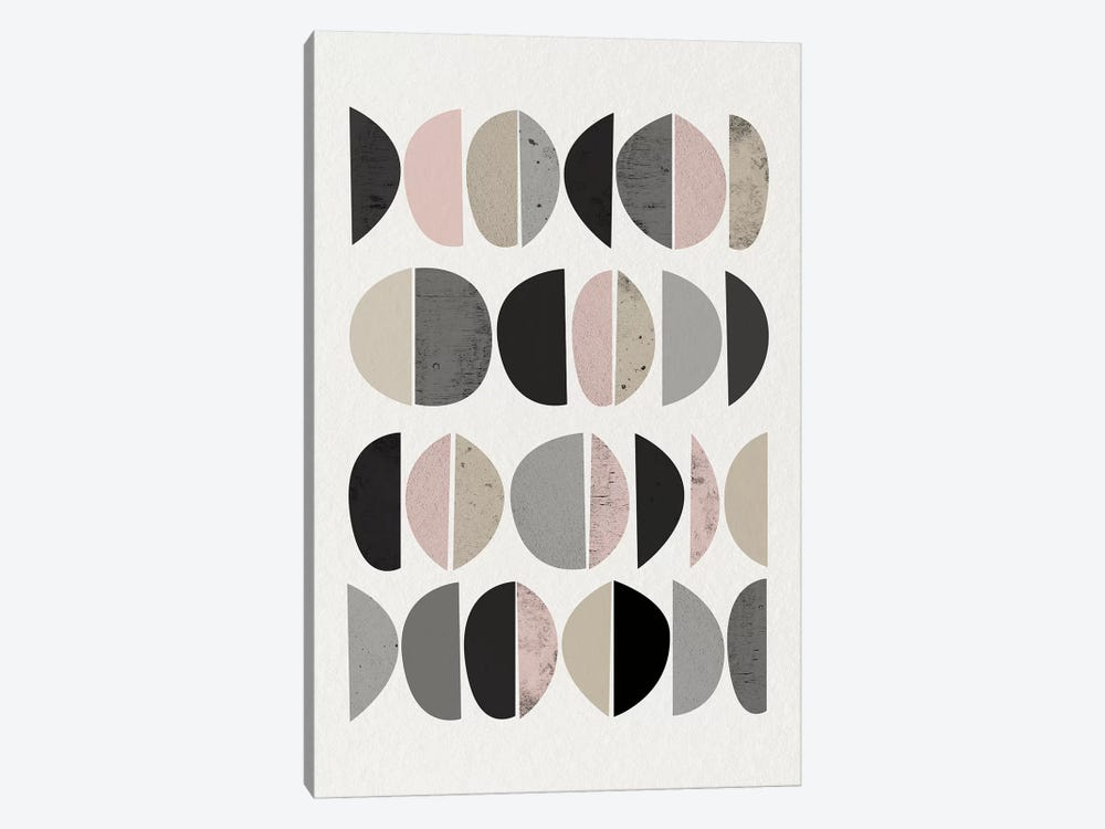 Minimalist Circles VIII by Urban Epiphany 1-piece Canvas Print