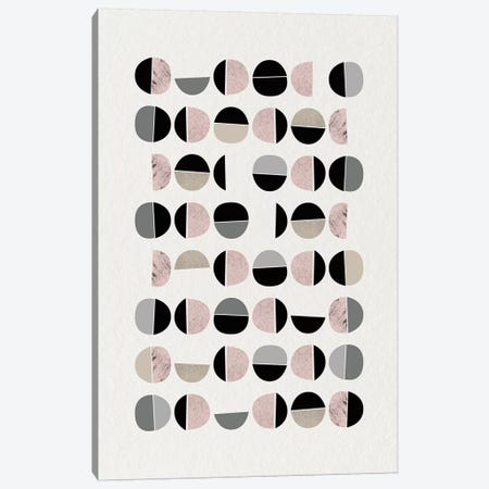 Minimalist Circles IX 3-Piece Canvas #URE152} by Urban Epiphany Art Print