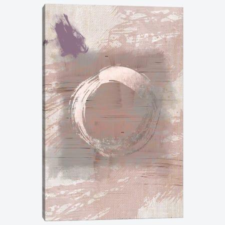 Pink Grey Hug Canvas Print #URE180} by Urban Epiphany Canvas Wall Art