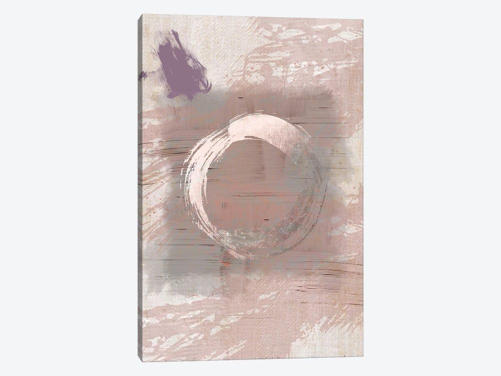 Pink Grey Hug by Urban Epiphany 1-piece Canvas Print