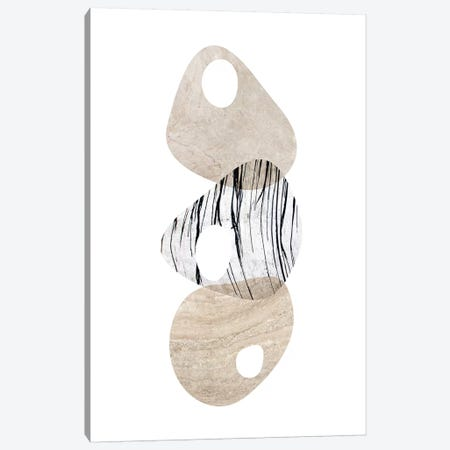 Scandinavian Balance Neutral III 3-Piece Canvas #URE210} by Urban Epiphany Canvas Wall Art