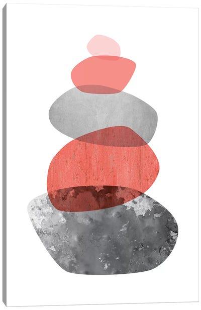 Balancing Stones Canvas Art Print