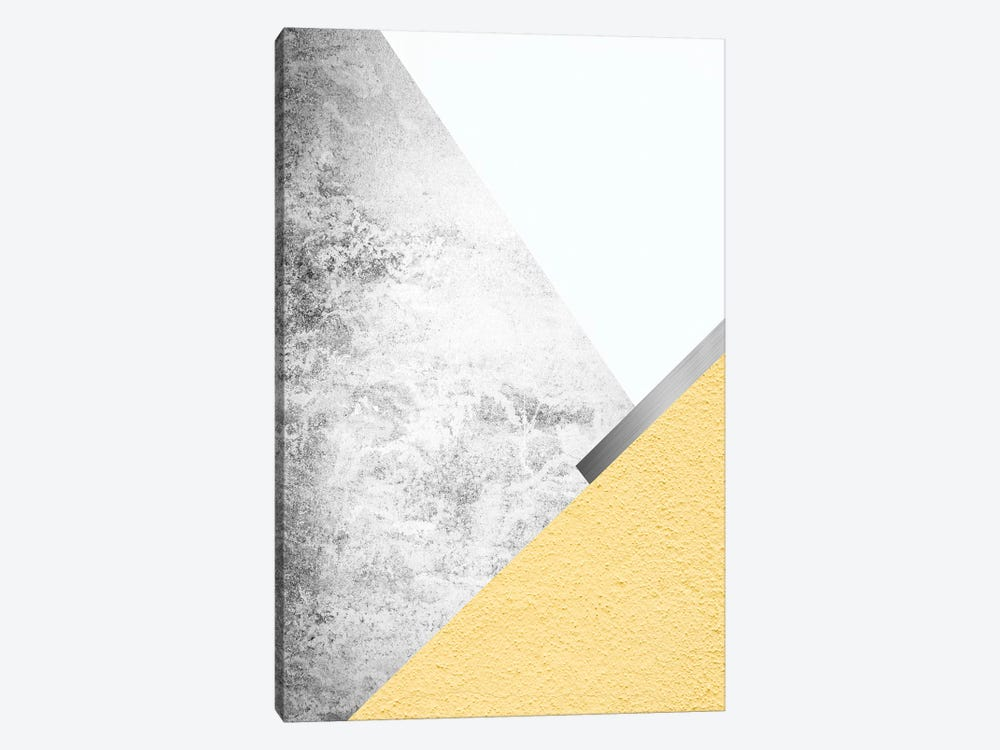 Yellow and Grey Mountains I by Urban Epiphany 1-piece Canvas Art Print