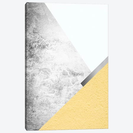 Yellow and Grey Mountains I Canvas Print #URE251} by Urban Epiphany Canvas Art