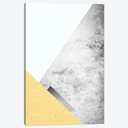 Yellow and Grey Mountains III Canvas Print #URE253} by Urban Epiphany Canvas Artwork