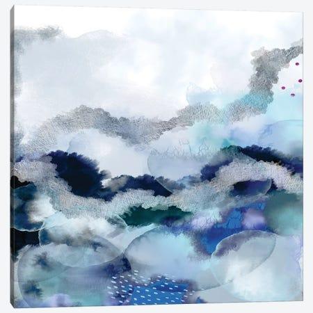 Evolving I Square Canvas Print #URE259} by Urban Epiphany Canvas Artwork