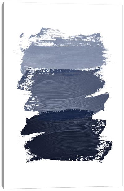 Blue Paint Canvas Art Print