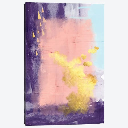 Bright Abstract Canvas Print #URE44} by Urban Epiphany Art Print