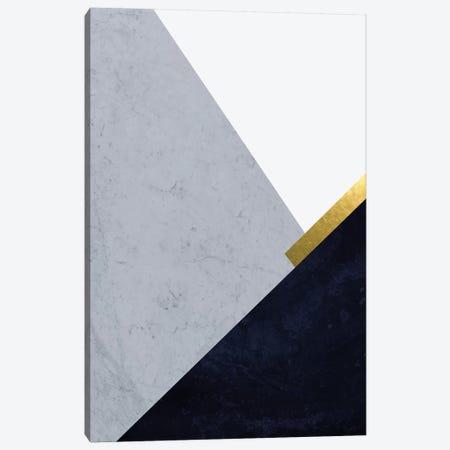 Dark Blue Mountains I Canvas Print #URE57} by Urban Epiphany Canvas Artwork
