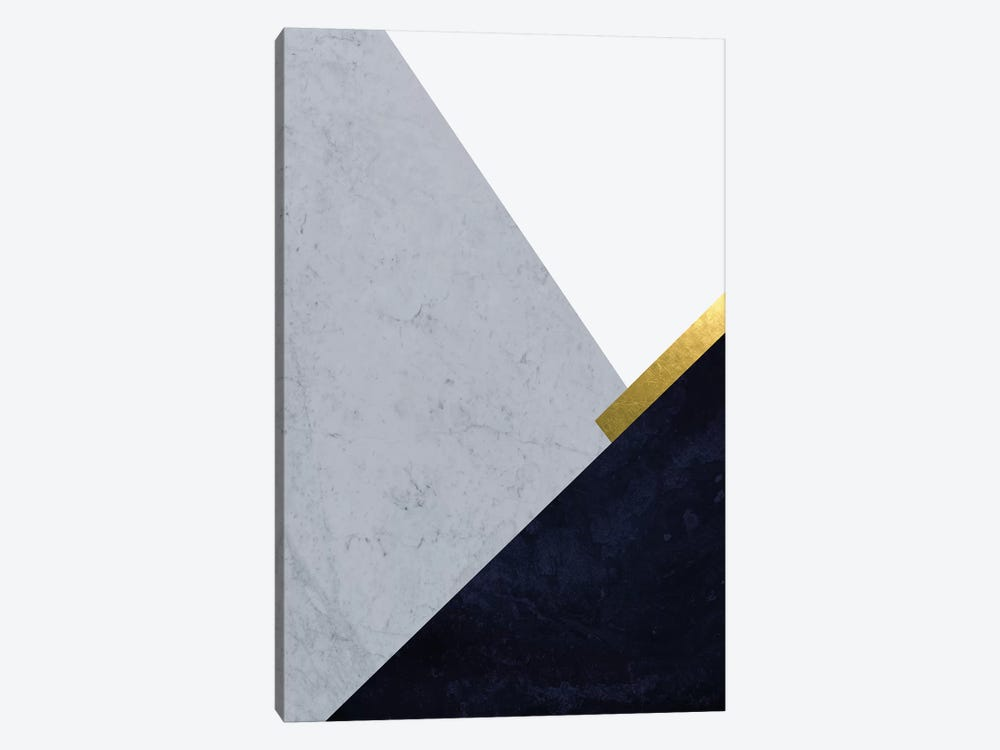 Dark Blue Mountains I by Urban Epiphany 1-piece Canvas Print
