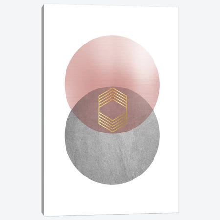Deco Geo II Canvas Print #URE60} by Urban Epiphany Canvas Artwork
